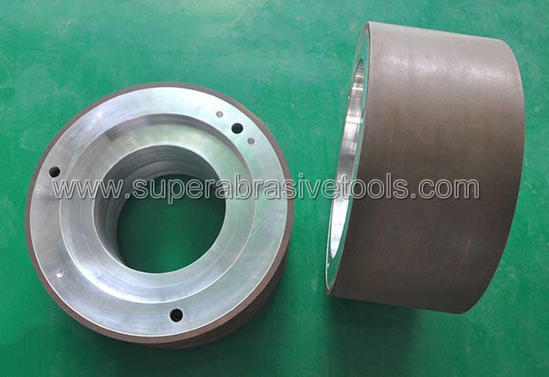 Centerless resin bonded diamond grinding wheel for PDC cutter tools