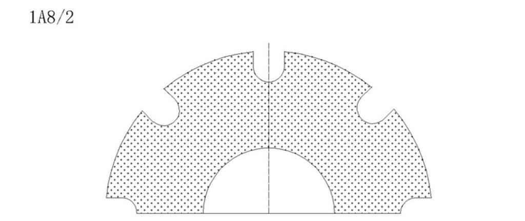 1a8-2 diamond dicing blade