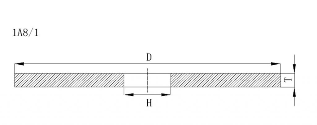 1a8-a diamond dicing blade