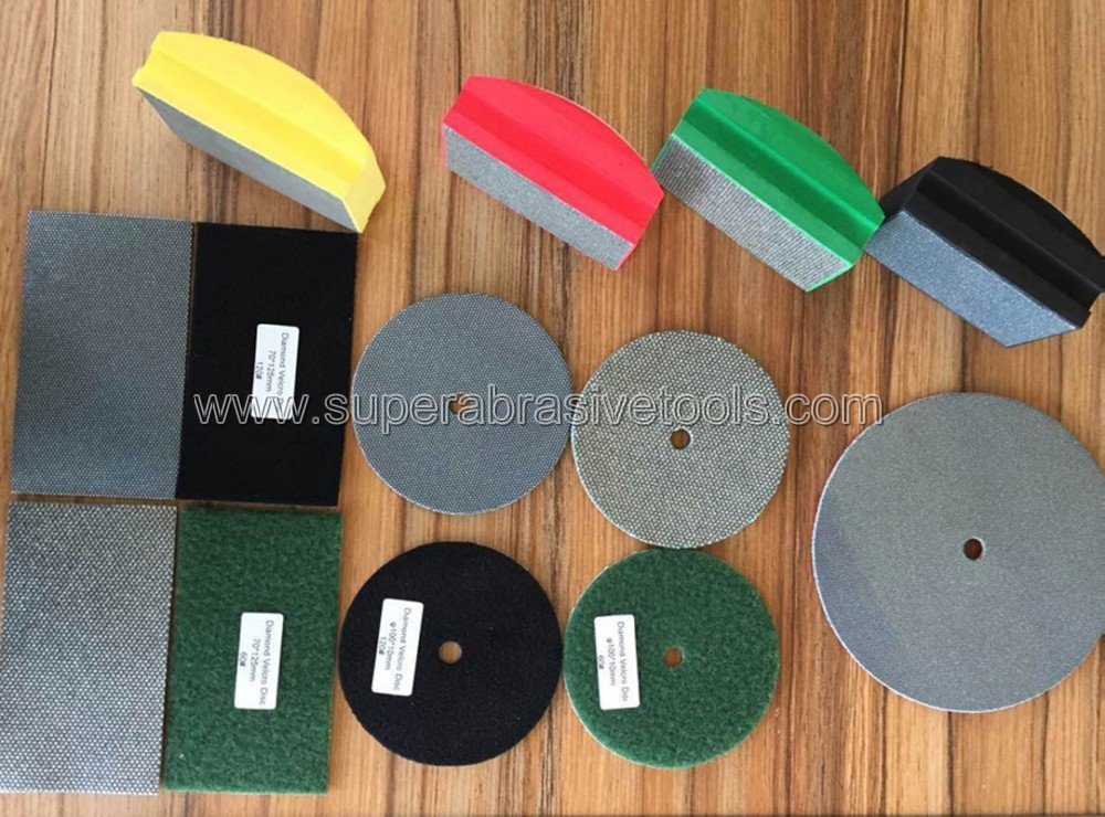 diamond hand polishing pad paper _ad