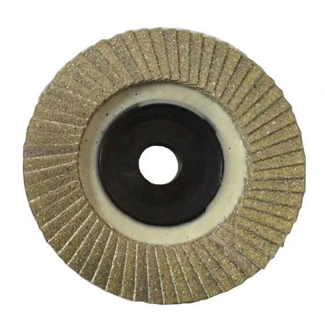 Diamond flap disc