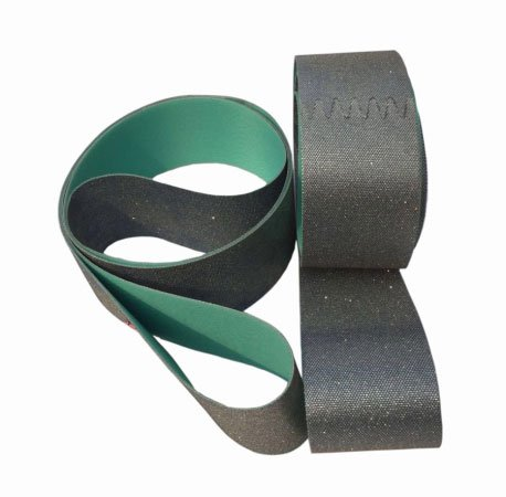 Diamond sanding belt
