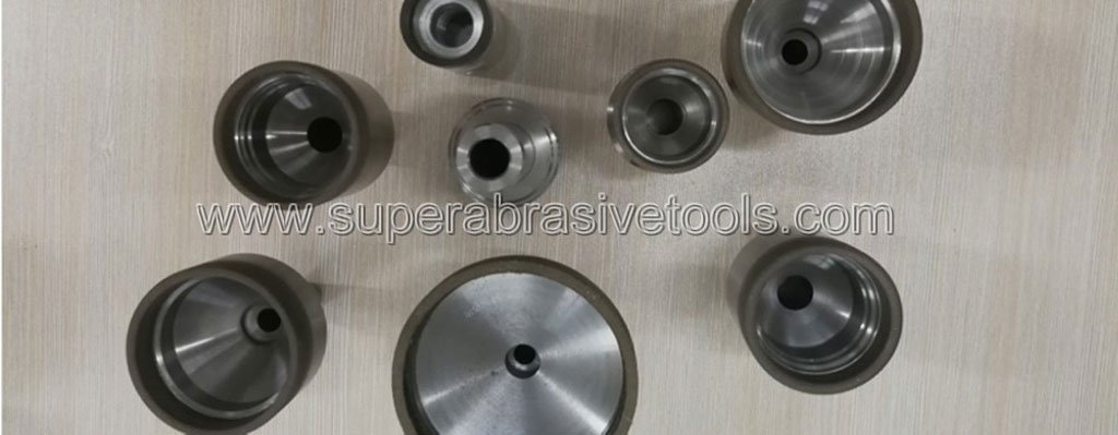 Sphere diamond milling grinding wheel for optical glass