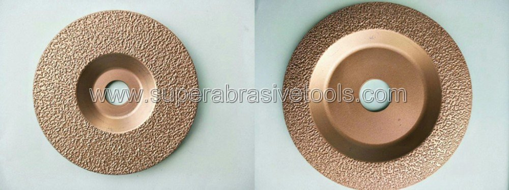 Vacuum Brazed Diamond Grinding Disc for Cast Iron