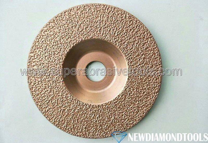 Vacuum Brazed Diamond cast iron Grinding Discs wheels