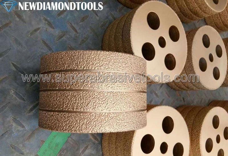 Vacuum Brazed Diamond cast iron grinding wheel discs