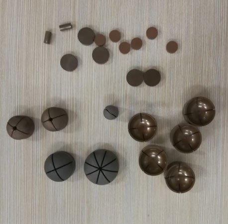 diamond pellets for optical glass