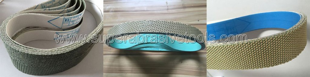 diamond sanding belts for Thermal Spray Coating Industry