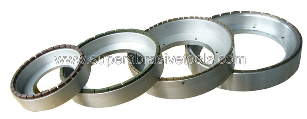 flat diamond milling grinding wheel for optical glass