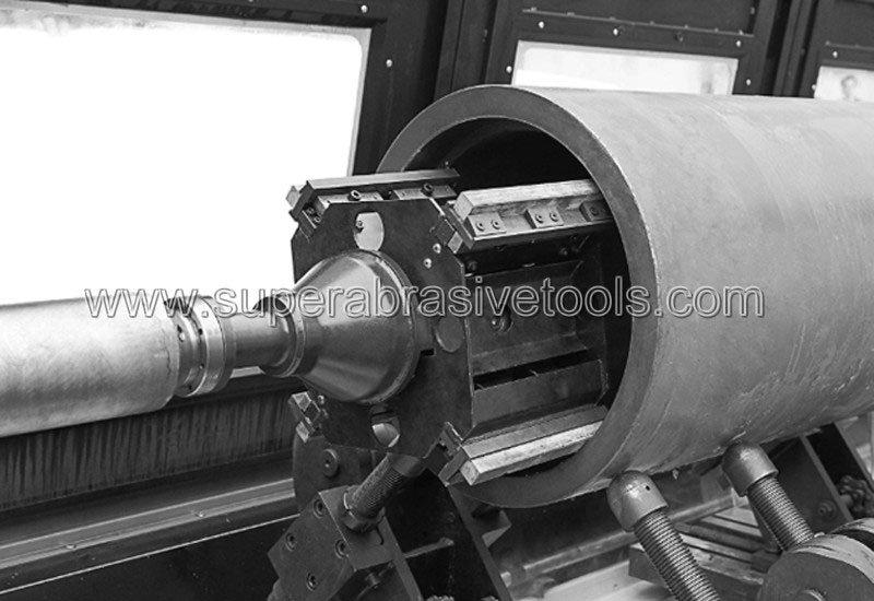honing machine stick stone process
