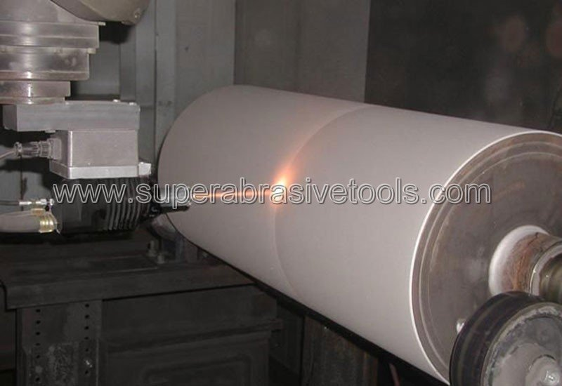 Application Features of Diamond Grinding Wheel in HVOF WC Coating Grinding
