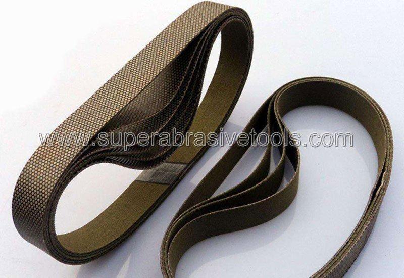 diamond sanding abrasive belt