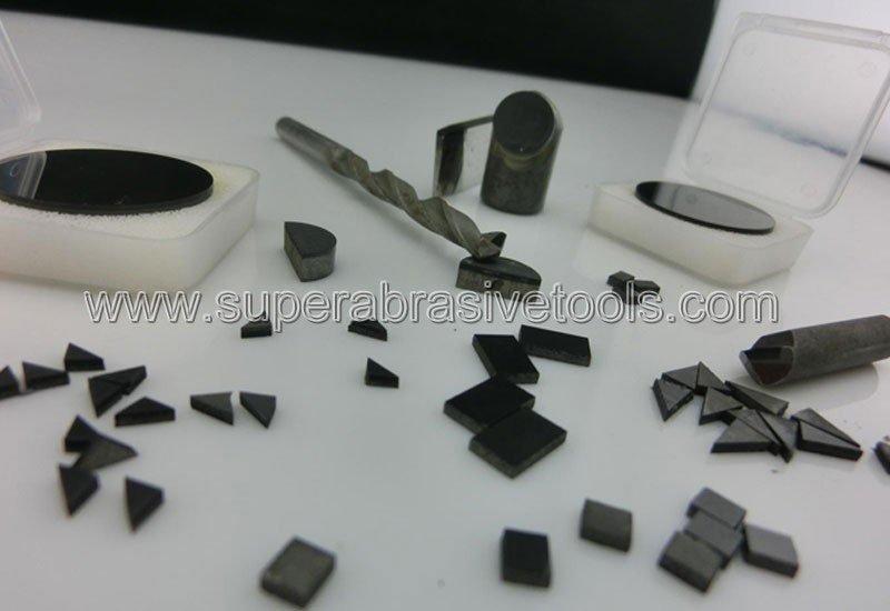 Polycrystalline diamond PCD tools insert blank milling cutter