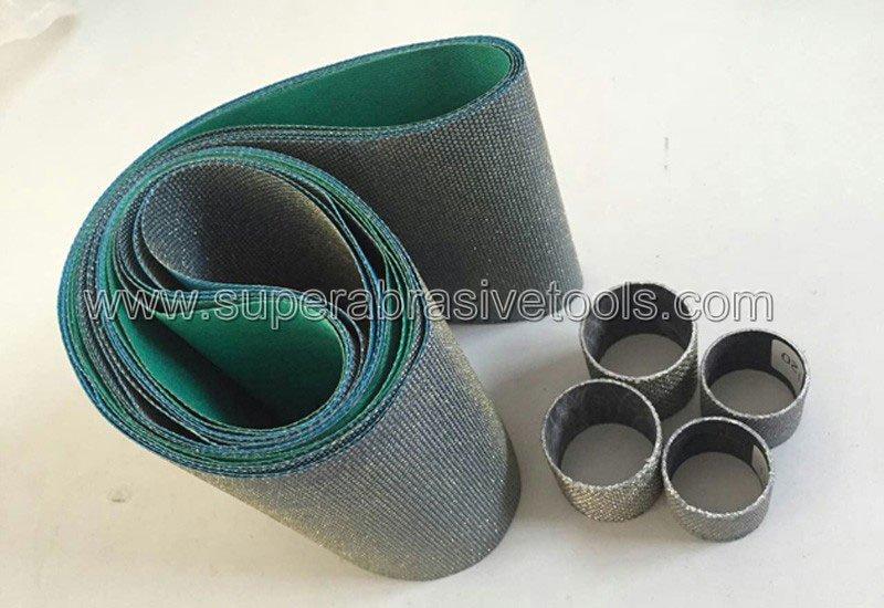 best diamond abrasive belts for glass