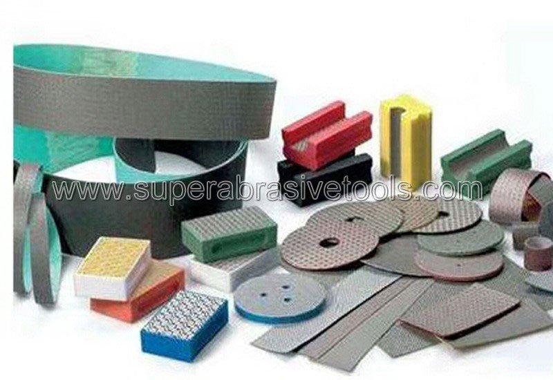diamond abrasive belt for glass flap wheel disc