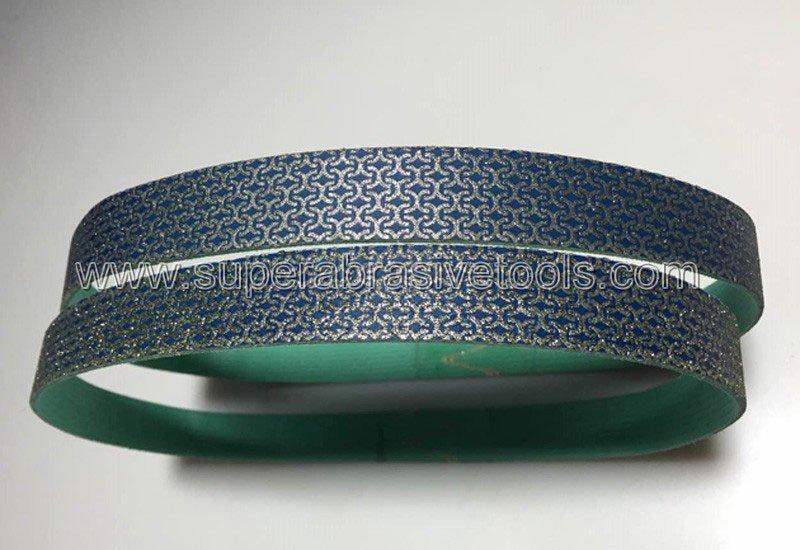 diamond abrasive belts for glass