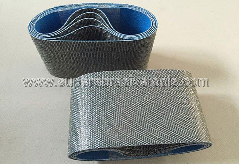 diamond sanding abrasive belts for glass