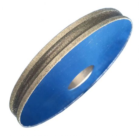 Electroplated diamond grinding wheel for glass