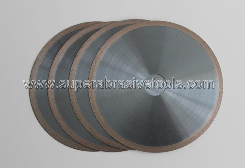 Metal bond diamond cut off wheel for industrial ceramic aluminum oxide, silicon nitride