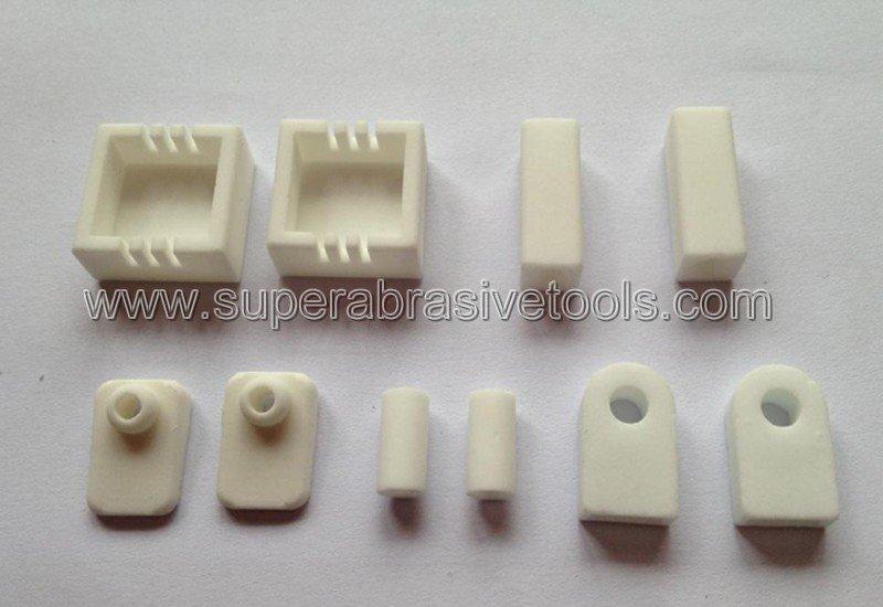 Metal bond diamond cut off wheel for industrial ceramics aluminum oxide, silicon nitride