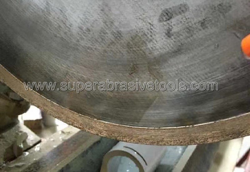 Metal bond diamond cut off wheesl for industrial ceramic aluminum oxide, silicon nitride