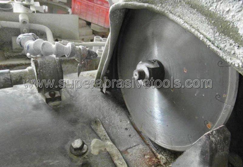 Metal bonded diamond cut off wheel for industrial ceramic aluminum oxide, silicon nitride