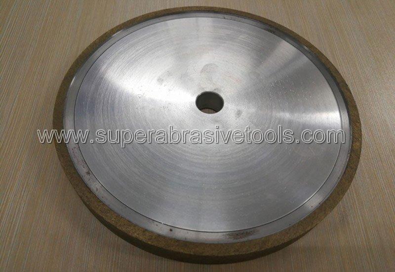 1A1 metal bond diamond grinding wheel for optical glass