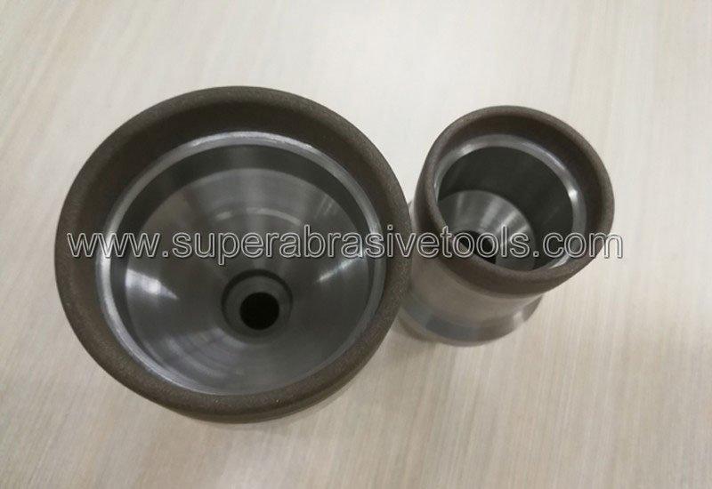 metal bond diamond cup grinding wheel for optical glass