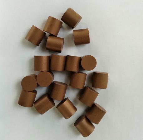 metal bonded diamond pellets for optical glass