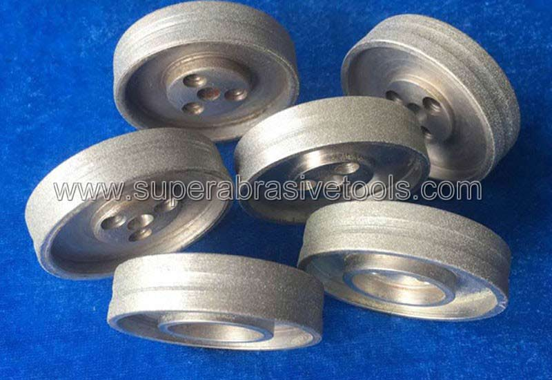 How to Pretreat of diamond electroplated grinding whee