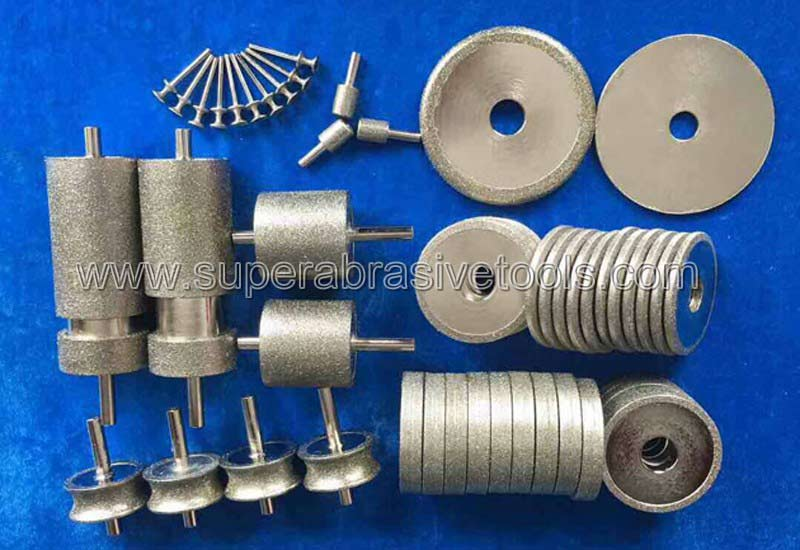 electroplated diamond grinding tools