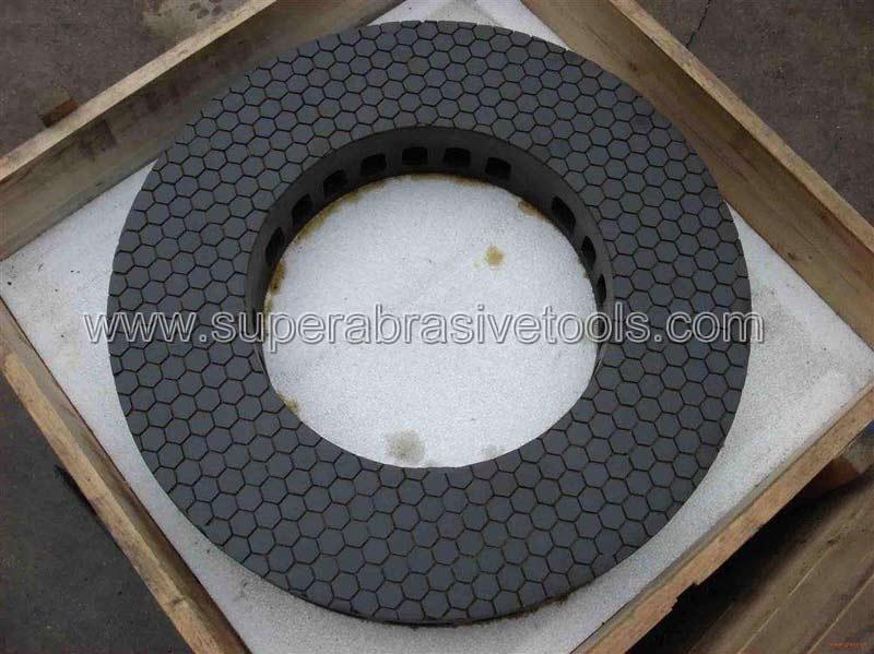 vitrified bond cbn grinding wheel plate