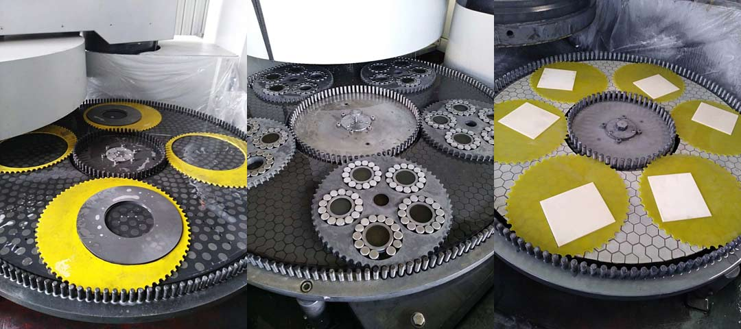 Application scene of double sided lapping grinding machine