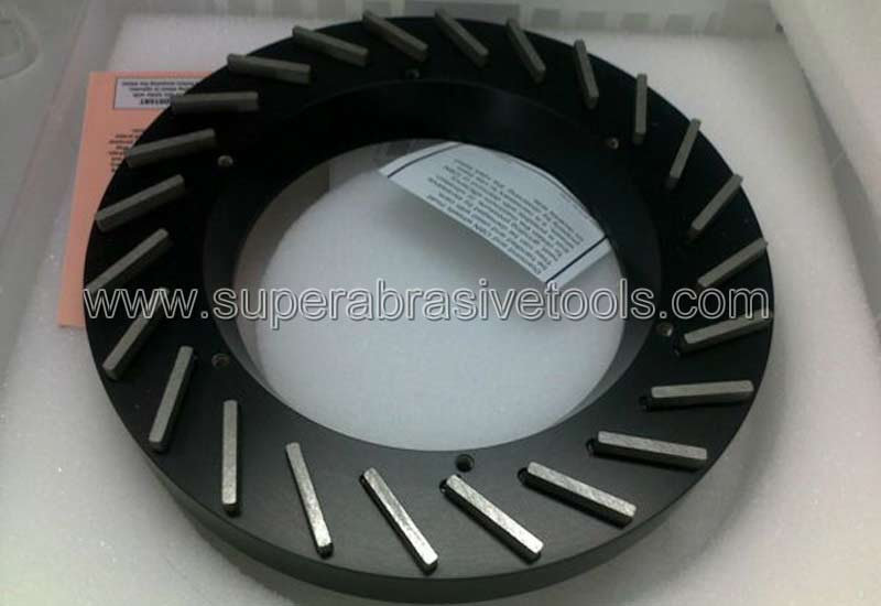 resin diamond wheel for sapphire wafer thinning lapping grinding