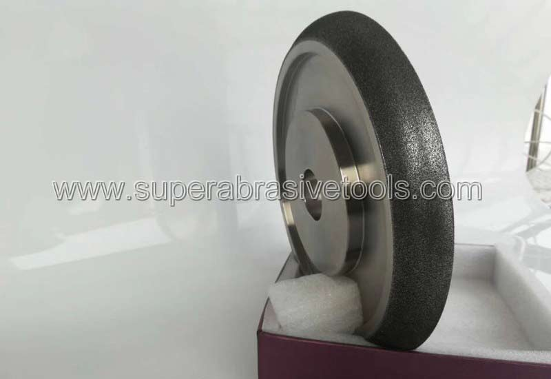 19 The research of electroplated CBN grinding wheel for superallloy