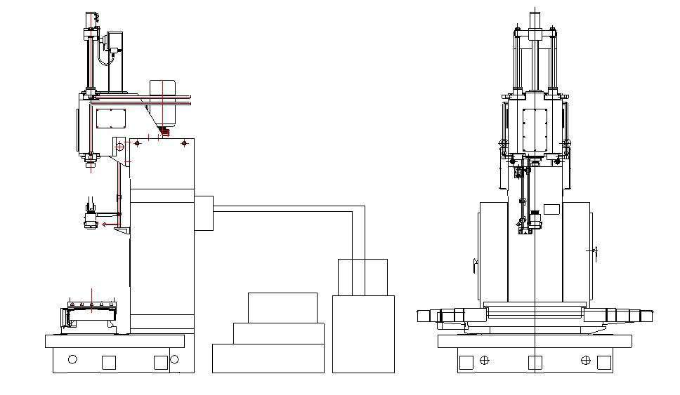 Working principle of vertical honing machine