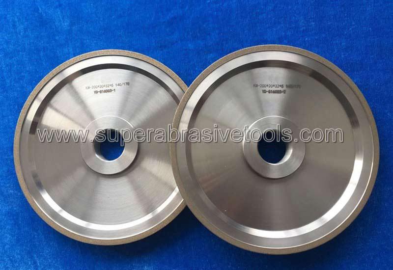 metal bonded diamond grinding wheels