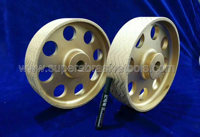 vacuum brazed diamond grinding wheels