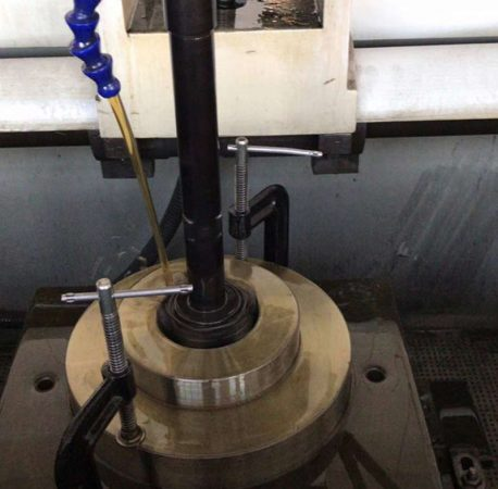 vertical honing machine application