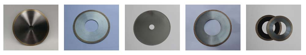 Metal bonded diamond cut off wheel