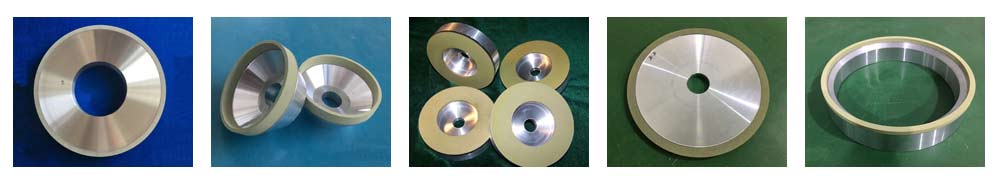 vitrified bonded diamond grinding wheel for pcd pcbn insert blank cuttera
