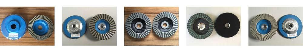 diamond cbn flap wheel disc